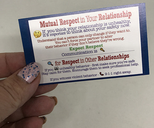 High School Consent  Education: Mutual Respect (5 Kits)