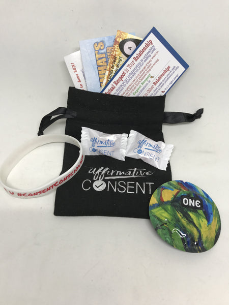 Affirmative Consent Kits: The Guide to Getting Your Affirmative Consent On #teamconsent (5 kits))