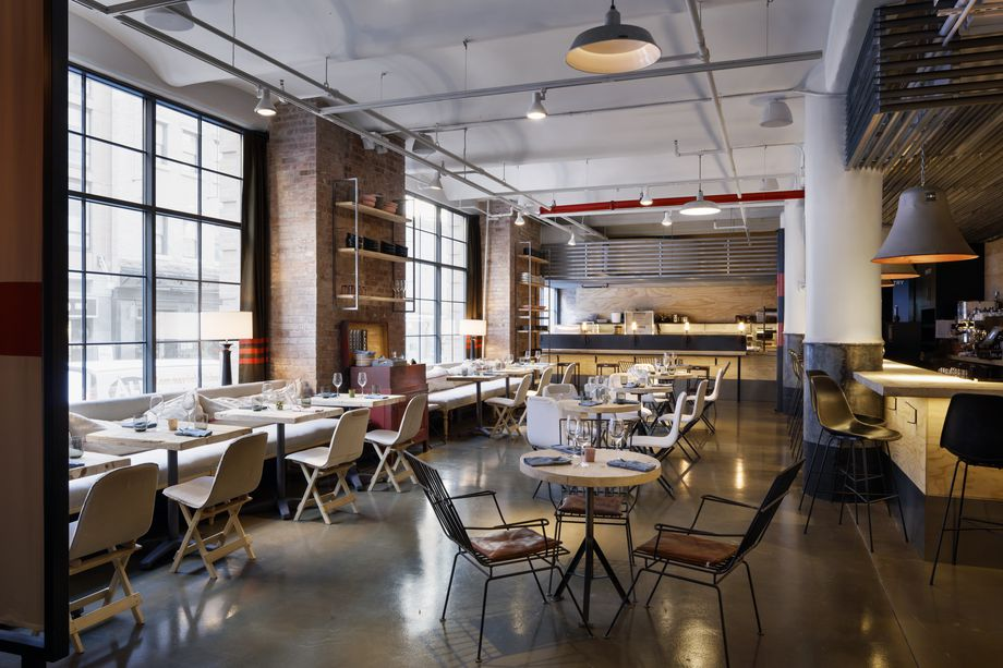 Chelsea Market Adds a Restaurant Inside a Furniture Store