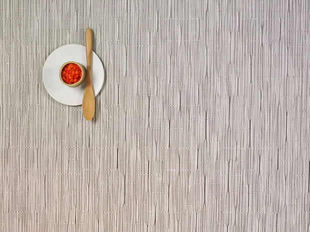Chilewich Bamboo Placemat - Chalk Rectangle