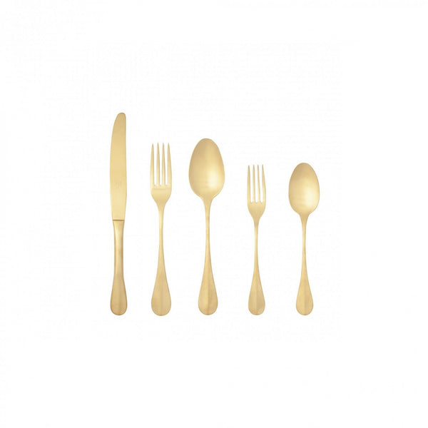 Nau Brushed Gold Flatware