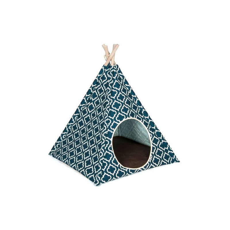 Horizon Pet Teepee - Moroccan Navy