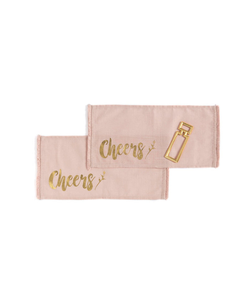 Cheers Napkin Gift Set