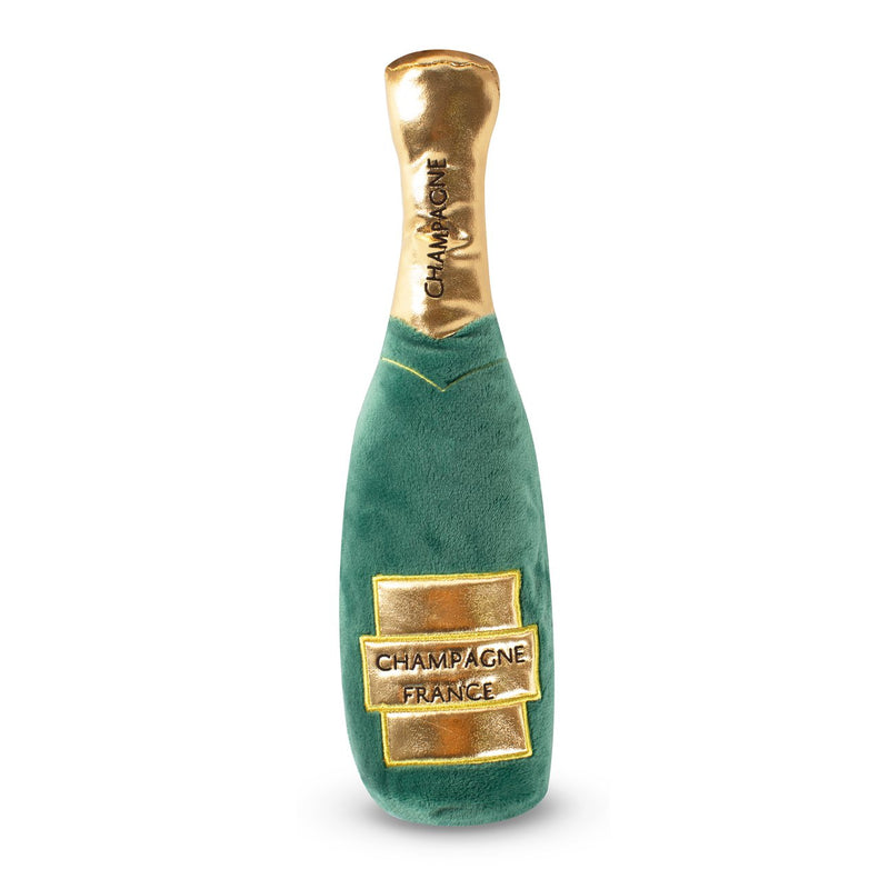 Champagne Bottle Dog Toy