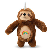 Rainbow Slothicorn Dog Toy