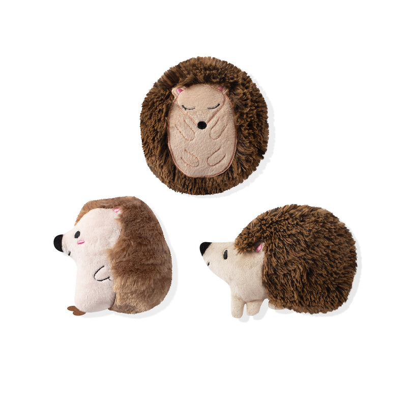 Mini Dog Toys - Hedgehogs
