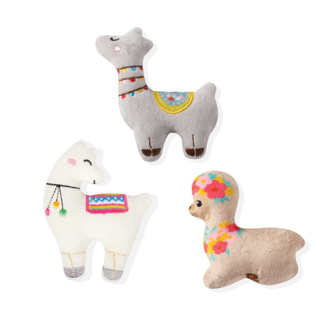 Mini Dog Toys - Llamas