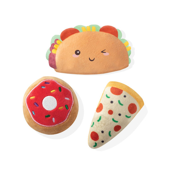 Mini Dog Toys - Foods