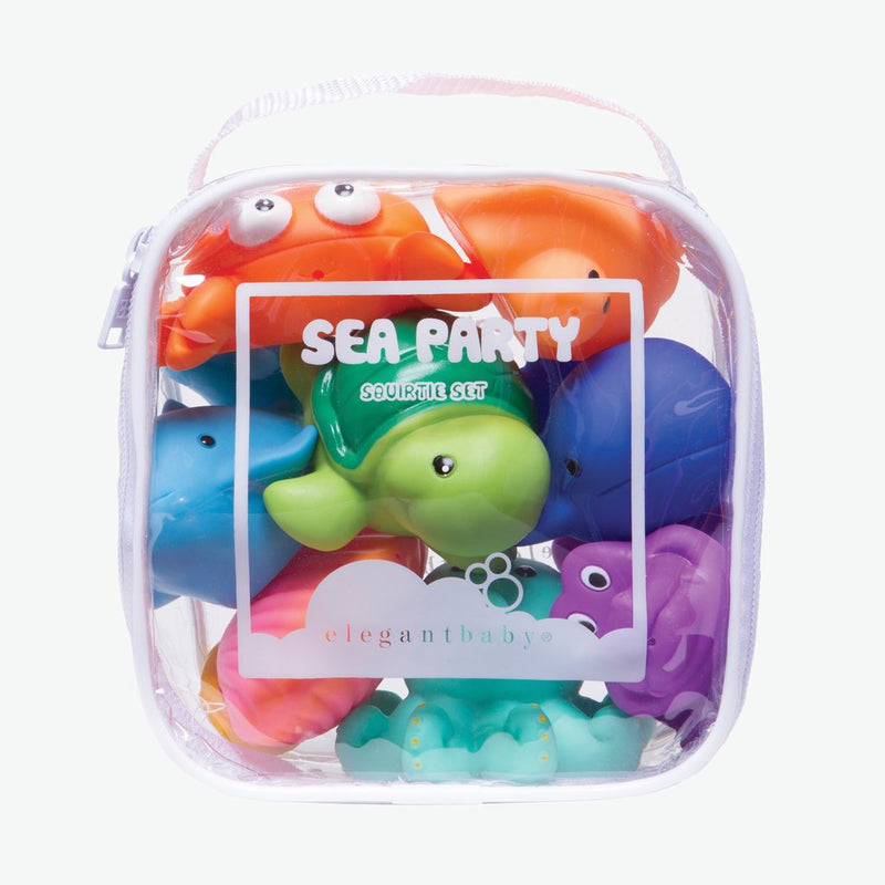 Bath Squirtie Set - Sea Party