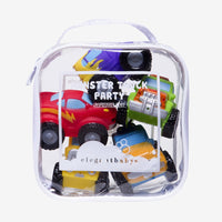 Bath Squirtie Set - Monster Truck Party