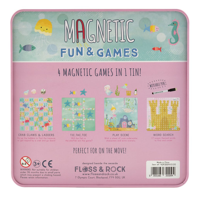 Magnetic Fun & Games - Mermaid