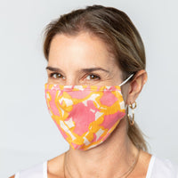 Reusable Cotton Face Mask - Farrah Pink