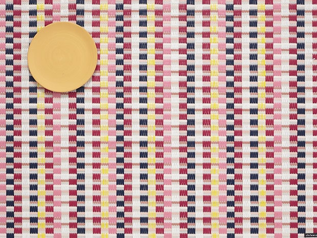 Chilewich Heddle Placemat - Pansy Rectangle