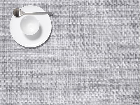 Chilewich Mini Basketweave Placemat - Mist