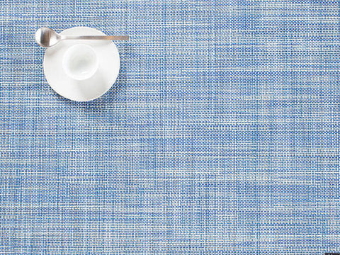 Chilewich Mini Basketweave Placemat - Chambray