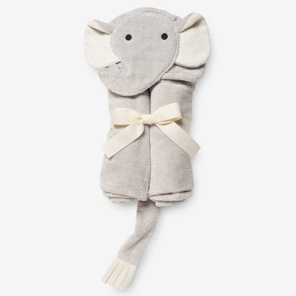 Baby Bath Wrap - Elephant