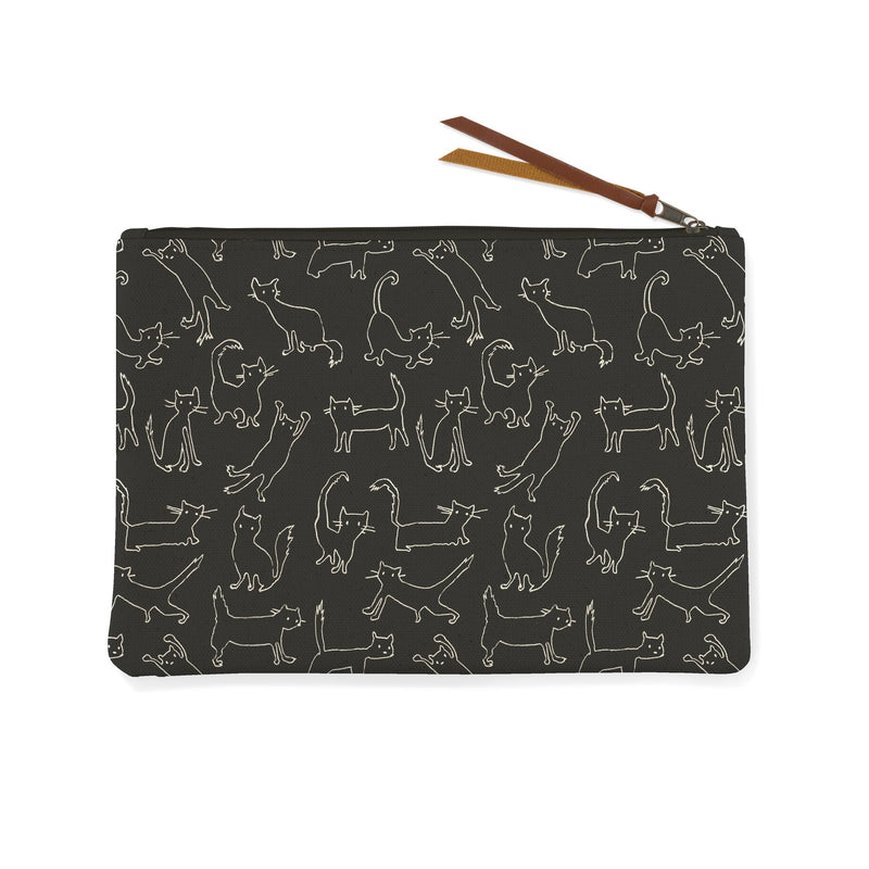 Canvas Pouch - Funny Cats