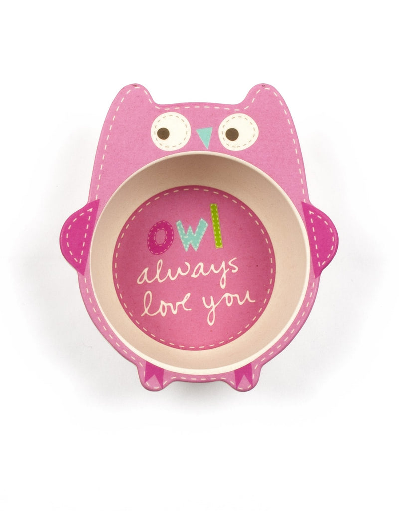 Shaped Dinner Set - Owl