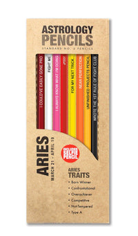 Astrology Pencils - Aries