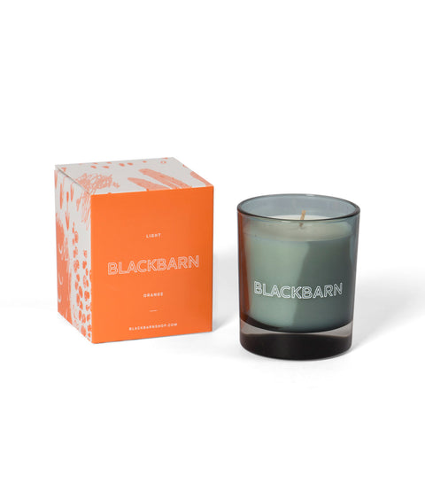 BLACKBARN Candle - Light Orange