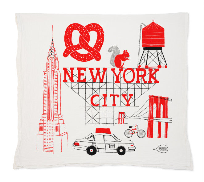 NYC Tea Towel