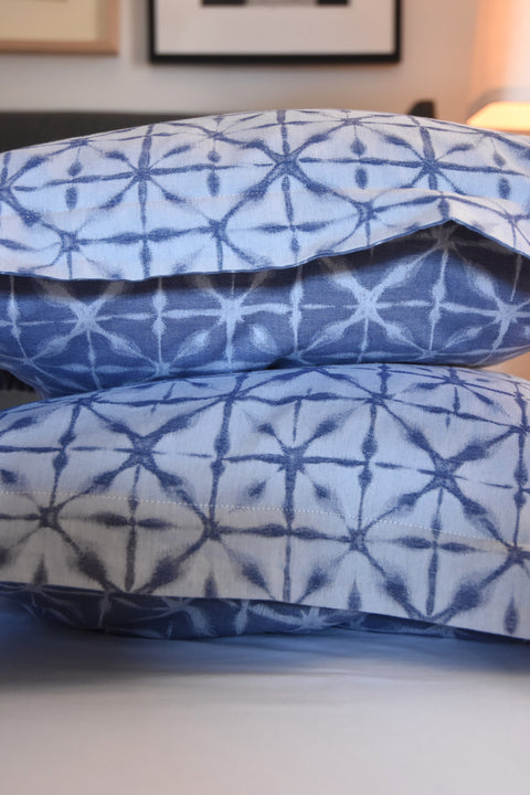 Blue & White Pillow Shams