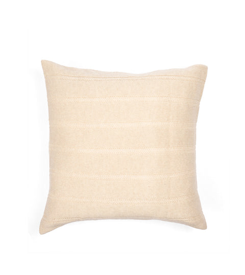 Button Cushion Cover - Beige