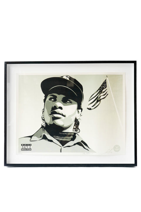Eazy E by Shephard Fairey & Mike Miller