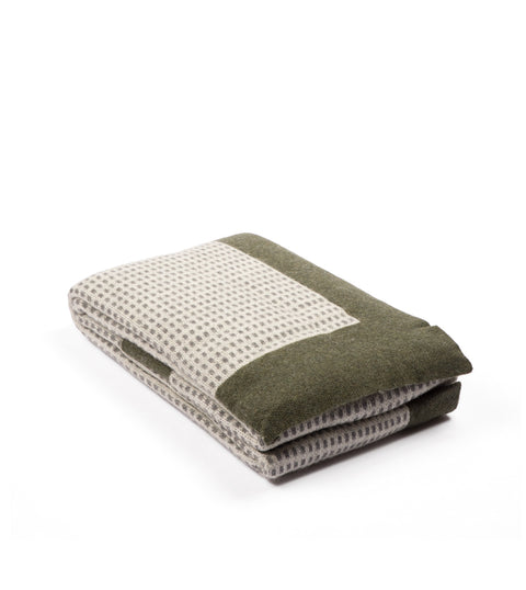 Imperio Throw - Green & Gray