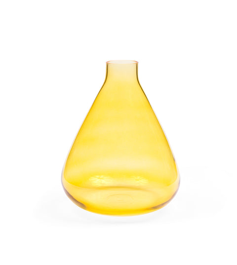 Beecham Glass Vase - Yellow