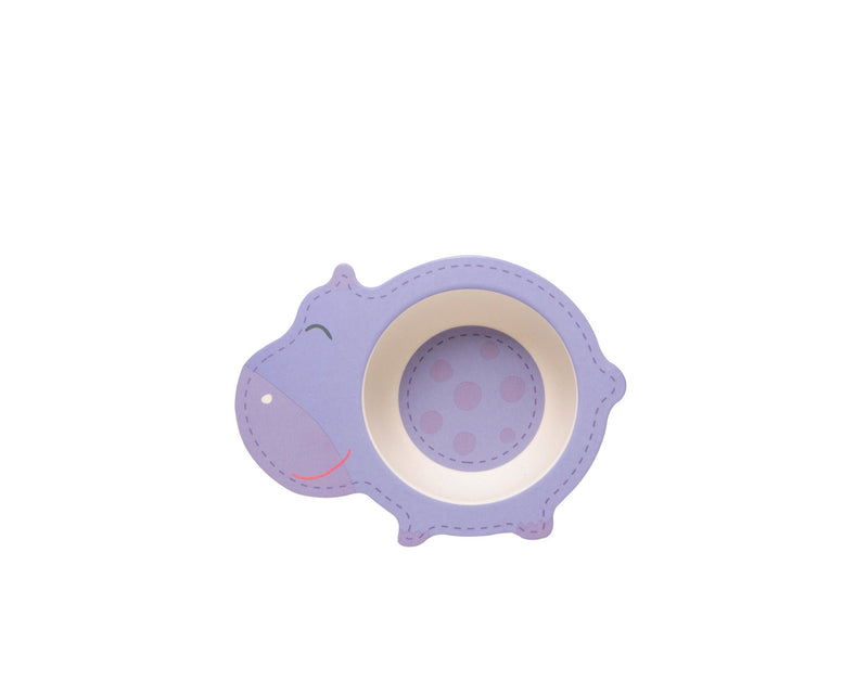 Shaped Dinner Set - Hippo