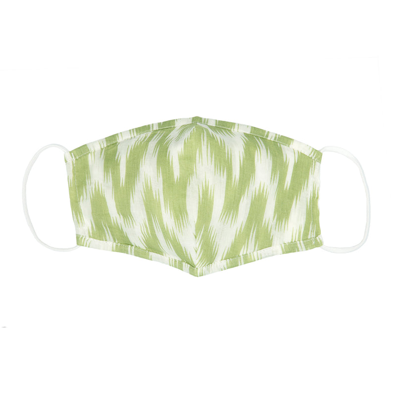 Reusable Cotton Face Mask - Alps Green