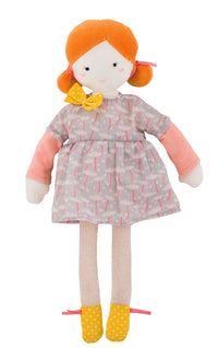 Plush Doll - Mademoiselle Blanche