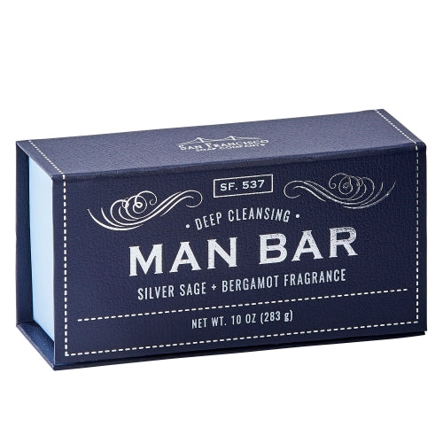 Man Bar - Deep Cleansing Silver Sage & Bergamot