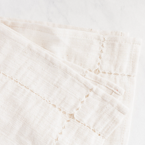 Pulled Cotton Napkin - Natural