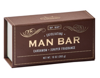 Man Bar - Exfoliating Cardamom & Juniper