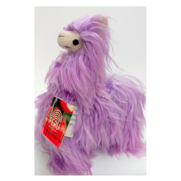 Medium Alpaca - Purple