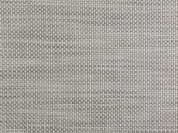Chilewich Basketweave Placemat - White/Silver
