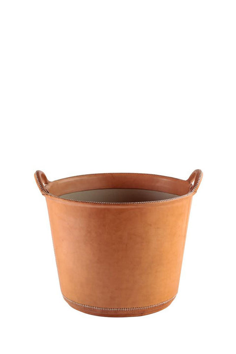 Small Leather Bucket