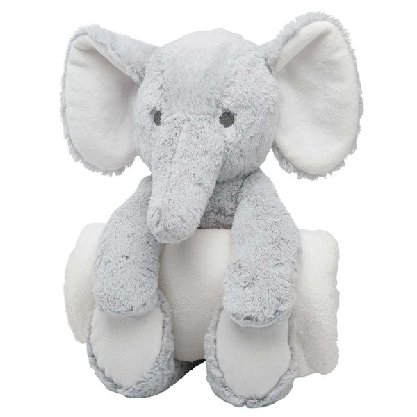 Gray Elephant Bedtime Plush Toy