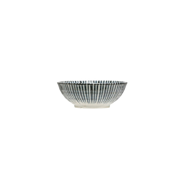 Small Porcelain Bowl - Blue & White Pattern
