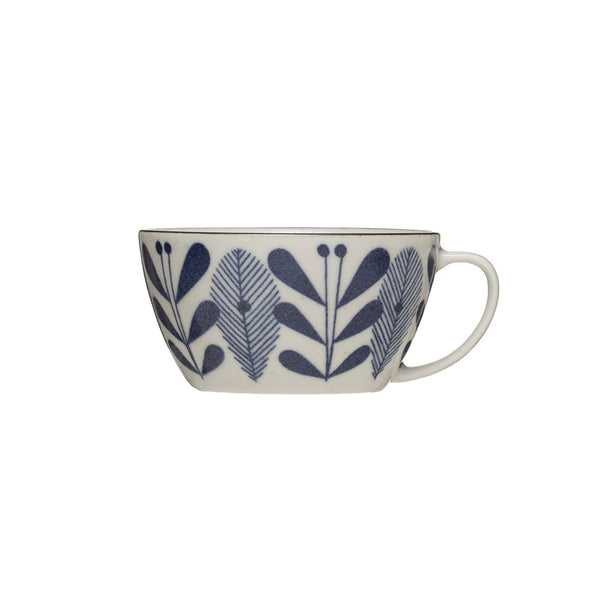 Mug - Blue & White Flower Pattern