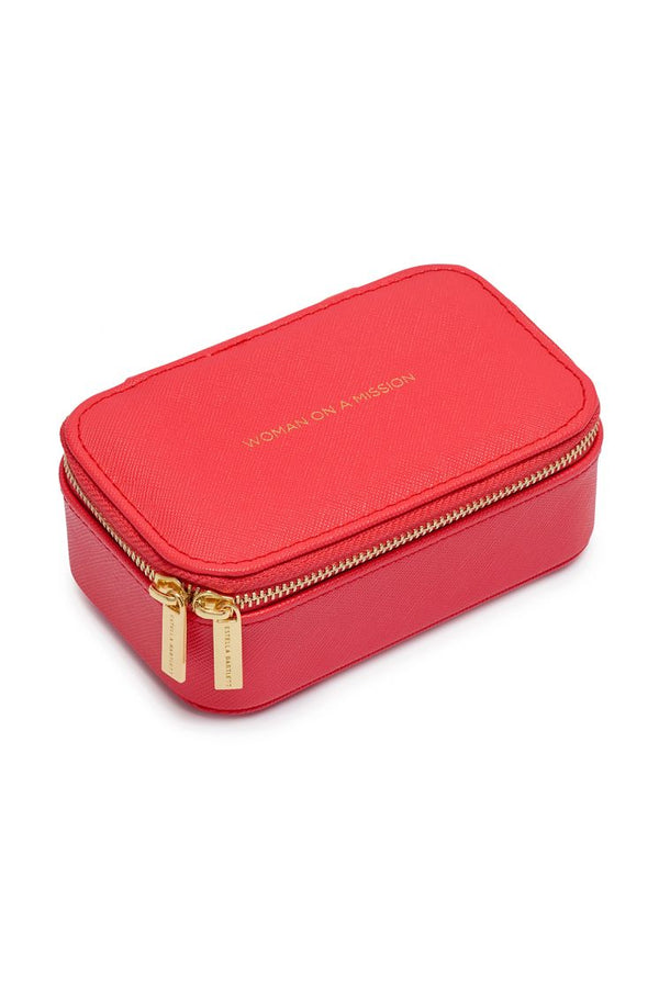 Mini Jewelry Box - Coral