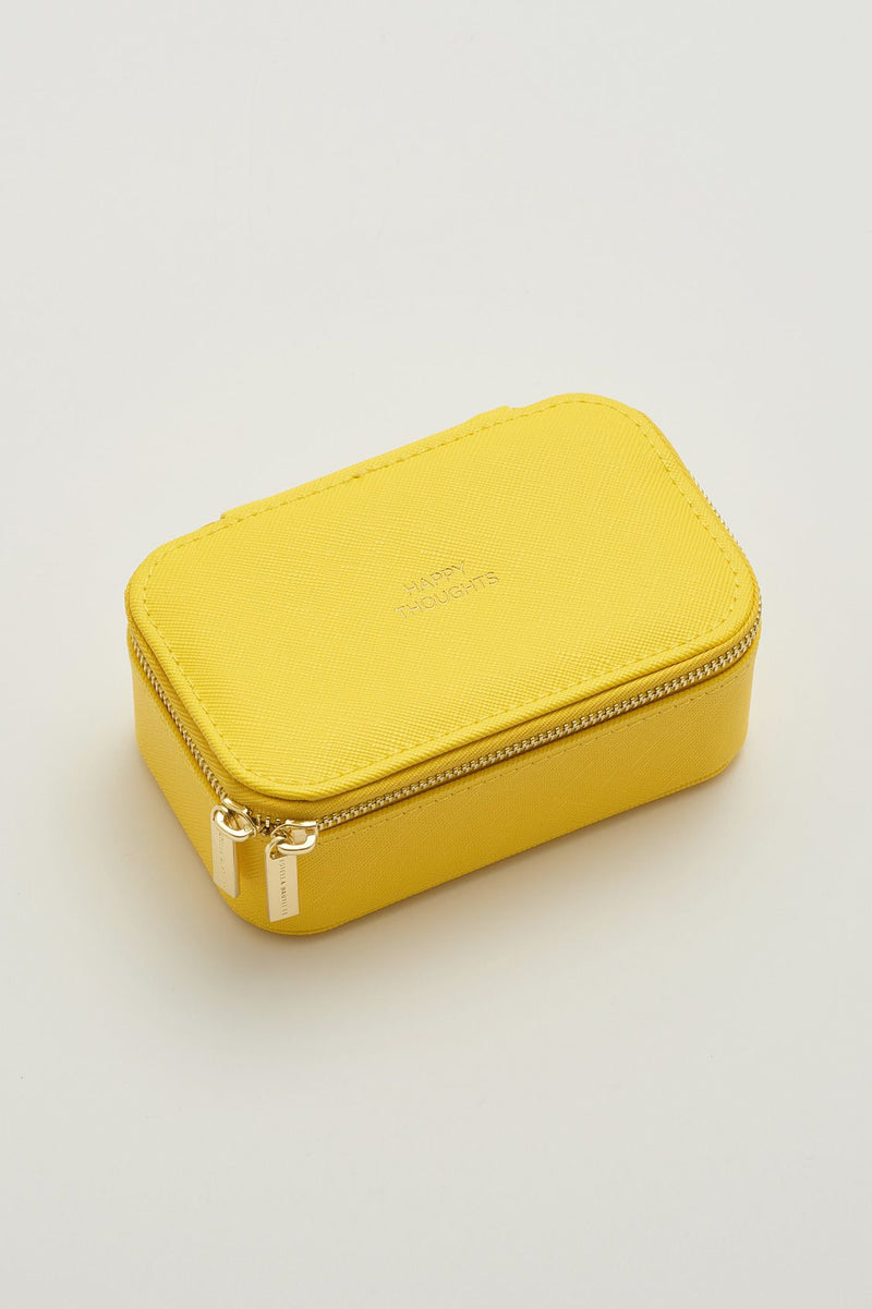 Mini Jewelry Box - Yellow