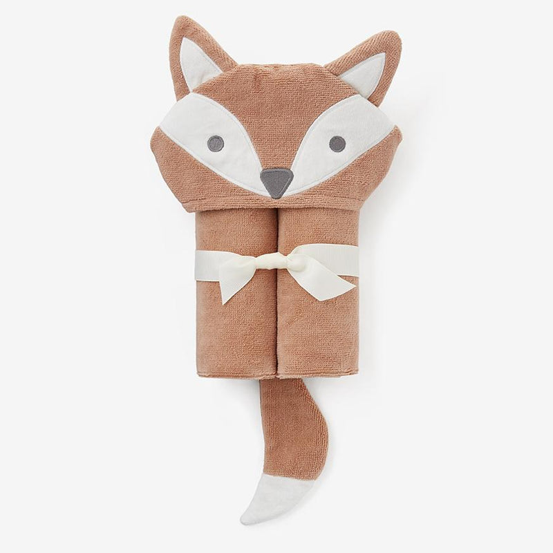Baby Bath Wrap - Rust Fox