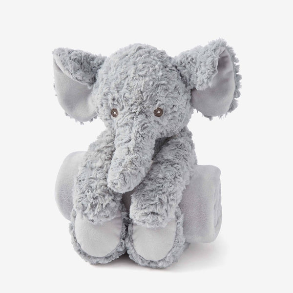 Swirl Elephant Bedtime Plush Toy
