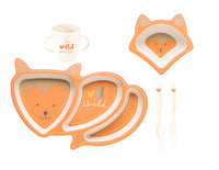 Shaped Dinner Set - Fox