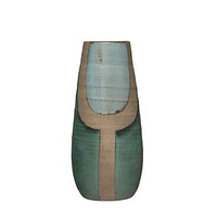 Hand Painted Terra Cotta Vase - Large