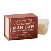 Man Bar Shampoo - Cedar & Sandalwood