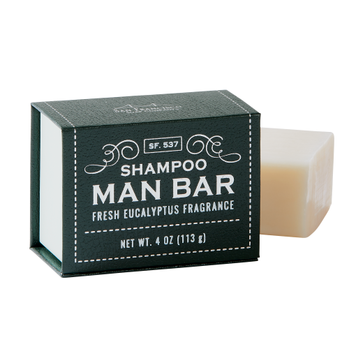 Man Bar Shampoo - Fresh Eucalyptus